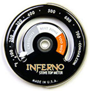 Picture of the Inferno stove top thermometer
