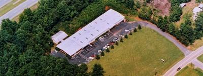 Sky view of Condar plant